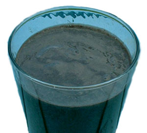 blue-green smoothie