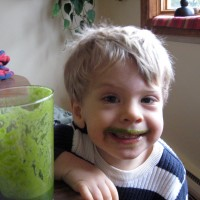 green smoothie kids